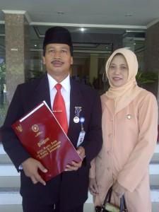 Penghargaan Lencana Karya Satya 20 tahun dari Presiden SBY