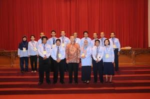 bersama Kepala Biro Kemdikbud dan Panitia CPNS UNS