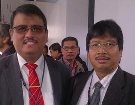 Bersama Prof Usman Tamrin (Rektor Universitas Tanjung Pura)